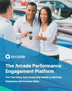 Automotive Performance Engagement Brochure | Arcade