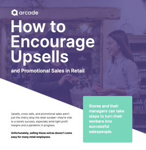 Infographic: Improve Upsells and Promotional Sales